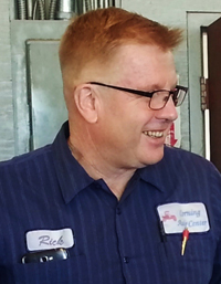 Rick King - Owner Corning Auto Center, auto repair shop at Corning CA