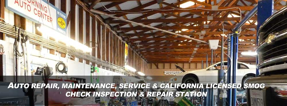Corning Auto Center a full-service auto repair shop and service center located in Corning, CA